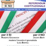 Referendum: le ragioni del Si è e quelle del No. Incontro per Capi ed Rs